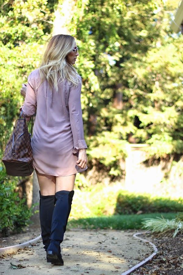 over the knee boot style