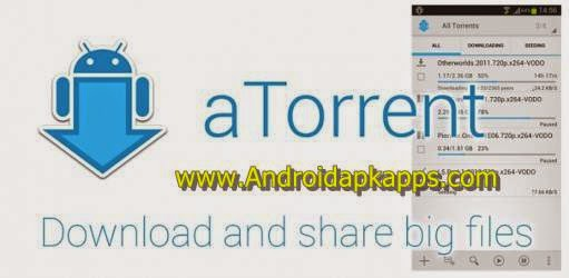 Download aTorrent PRO Torrent App v2.1.5.3 Full Apk
