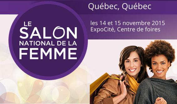 Salon National de la Femme 2015 Québec