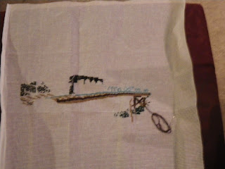 in progress needle point