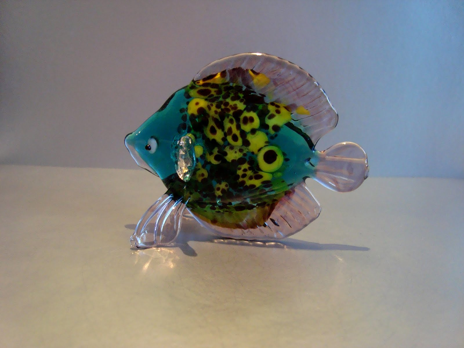 Grants glass - изделия и игрушки из стекла: Рыбки и все ...