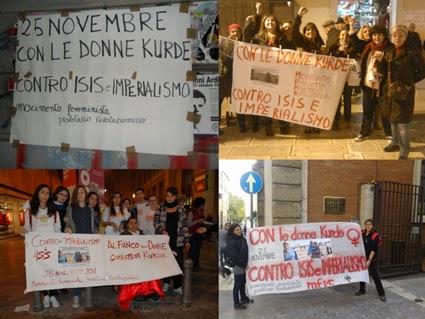 Con le donne kurde, contro Isis e imperialismo