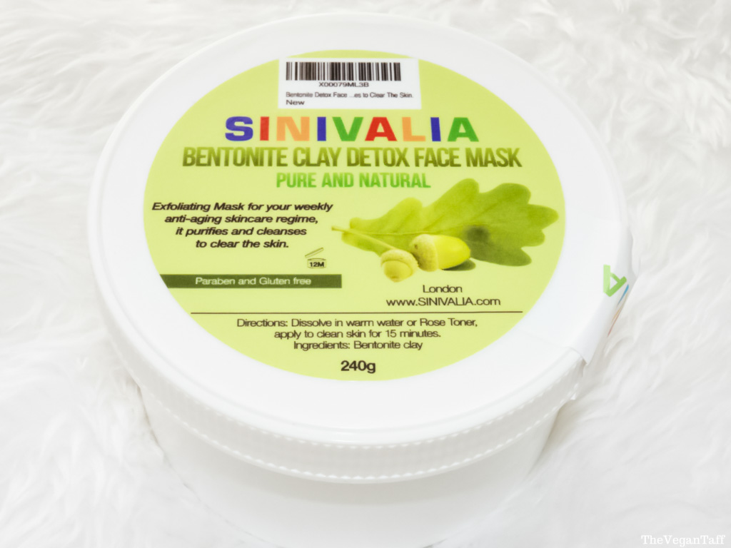 Sinivalia Bentonite Detox Face Mask