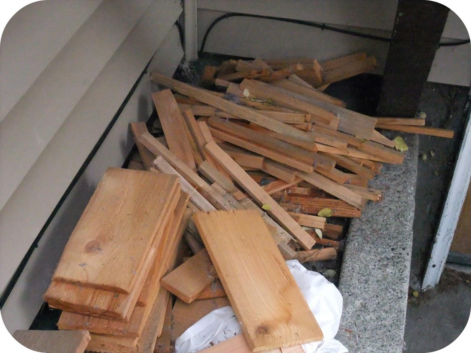 Scrap Wood Door : The brilliant crafty type shabby chic wood scrap