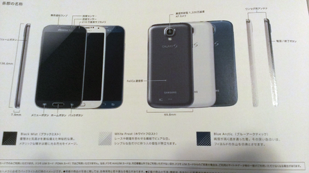 """Samsung will release Galaxy S4 Blue """"Blue Arctic"""""""