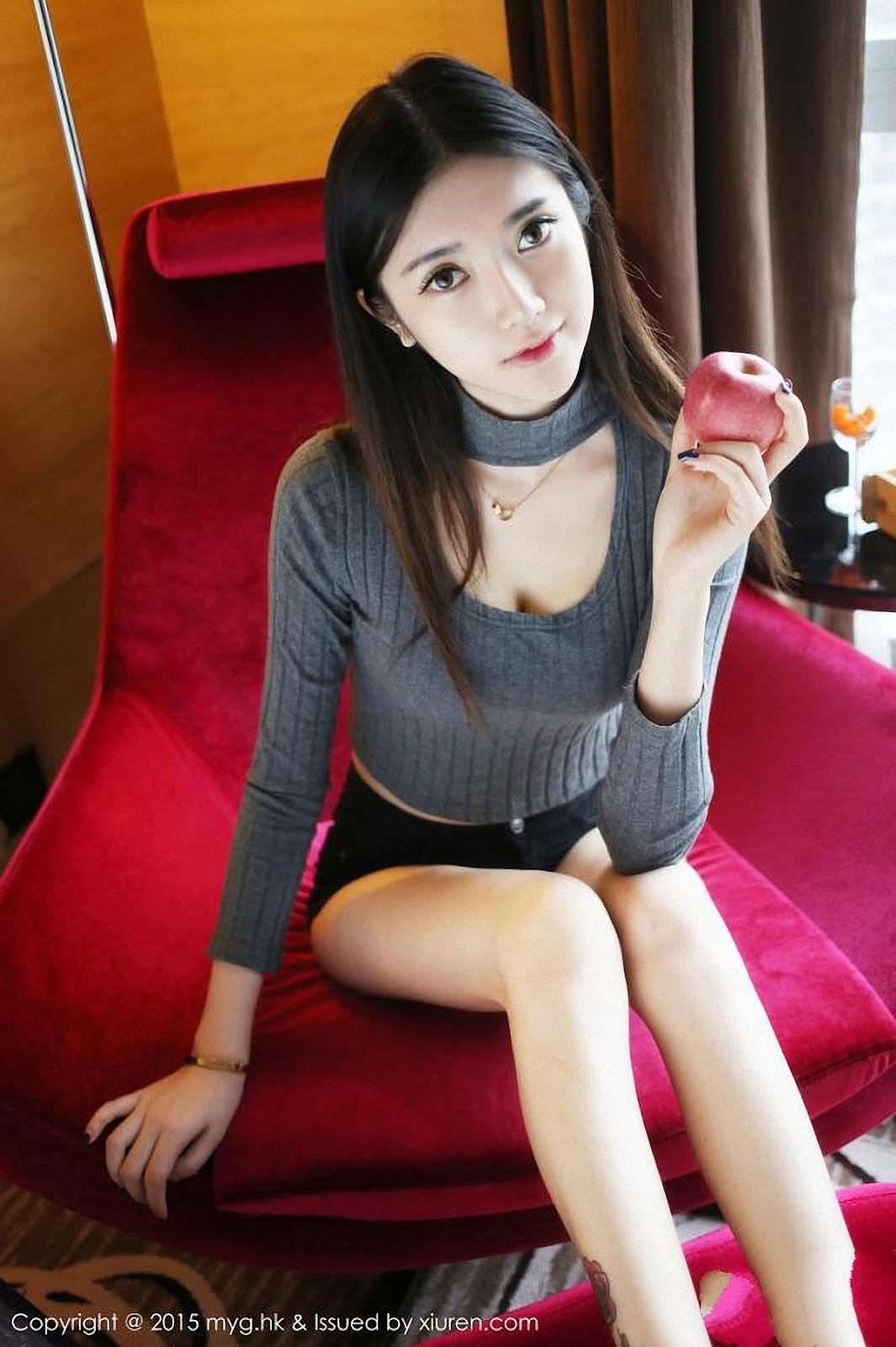 17 - Sexy Girl Model MYGIRL VOL.119