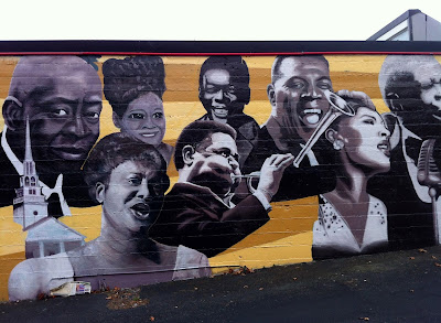 Jazz Icons Mural-Queen Anne