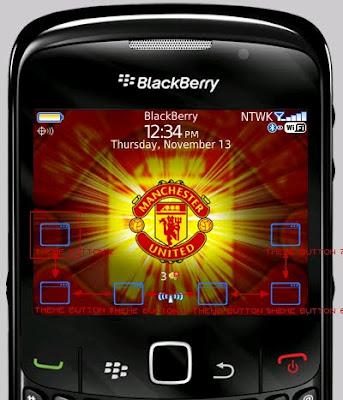 Download Tema Manchester United Gratis Untuk Blackberry