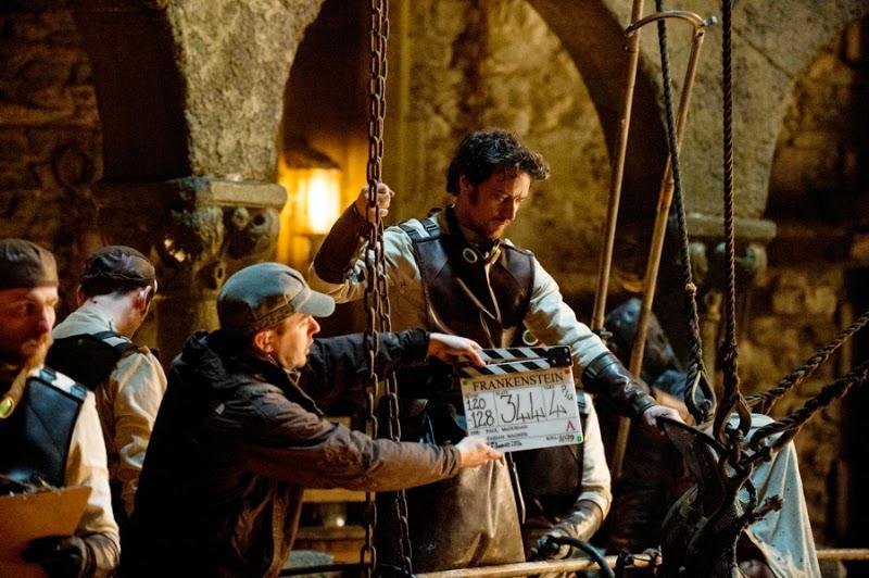Victor Frankenstein Movie starring Daniel Radcliffe and ...