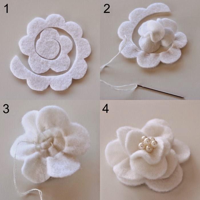 Arte com quiane paps e moldes de artesanato como faz flor magn lia de feltro - Material para hacer diademas ...