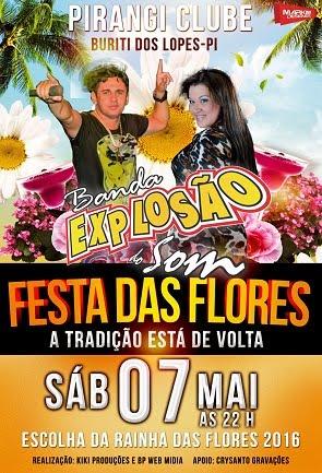 FESTA DAS FLORES 2016 - BURITI DOS LOPES