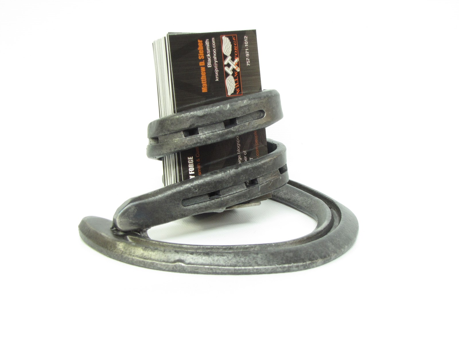 Welcome to willway forge horse shoe business card holder horse shoe business card holder colourmoves