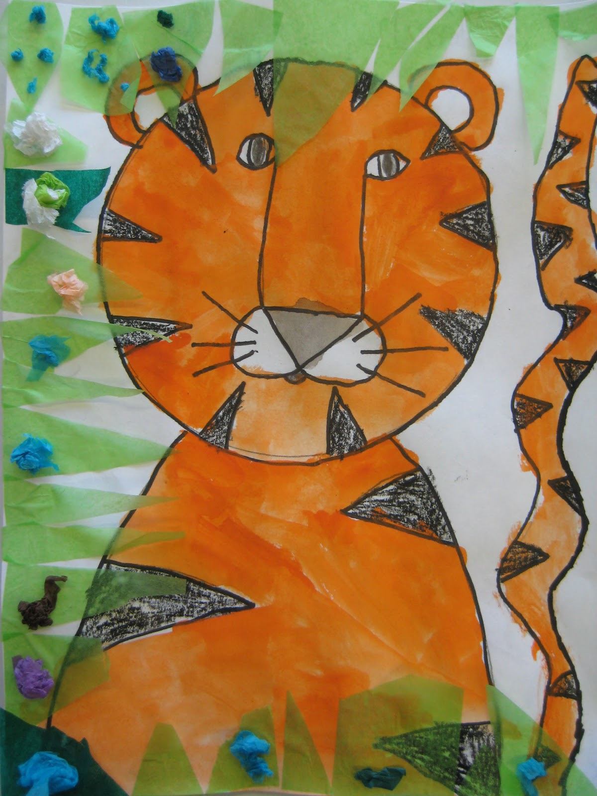 art room with a view grade 1 tigers