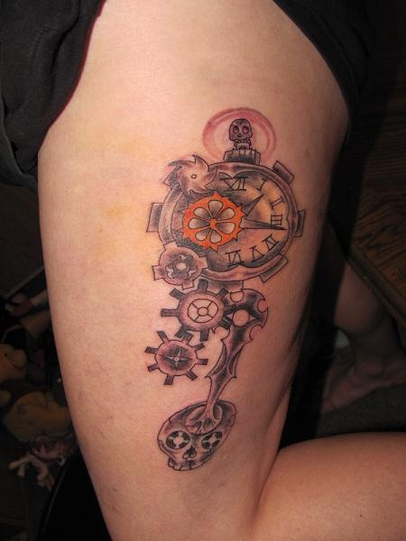 A new steampunk tattoo