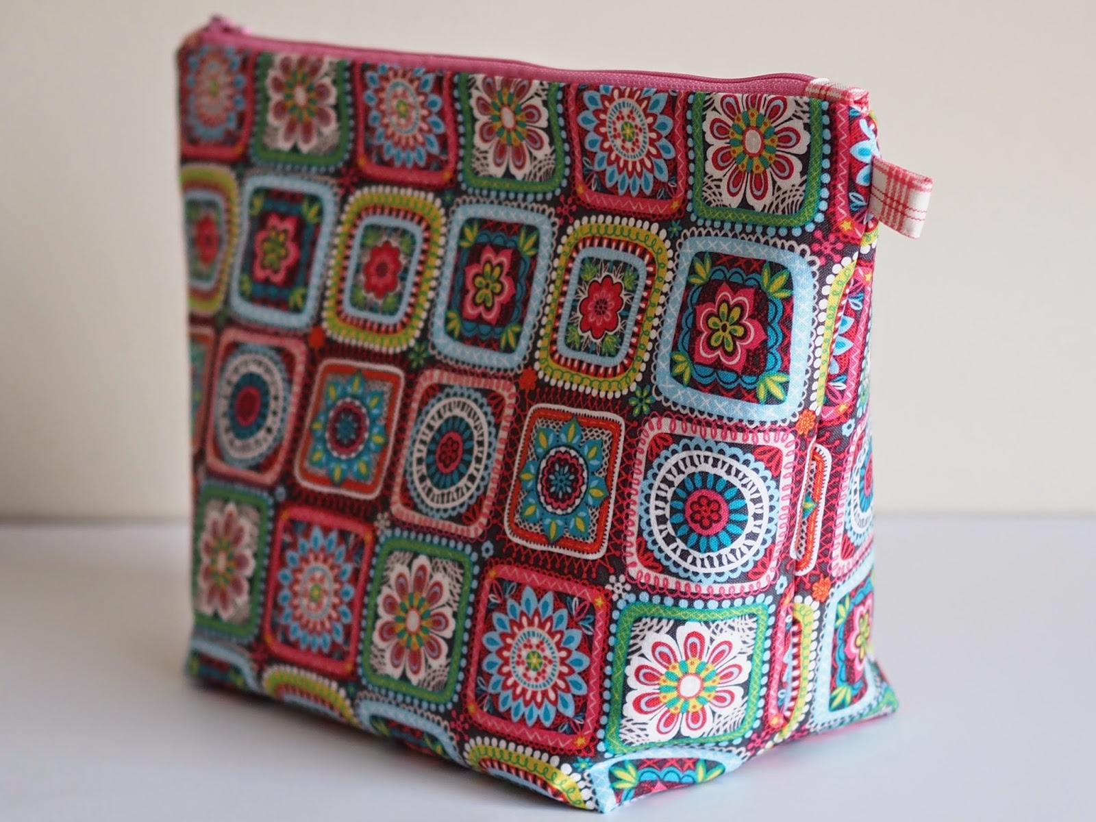 Zippered Knitting Project Bag Tutorial : Project bag tutorial