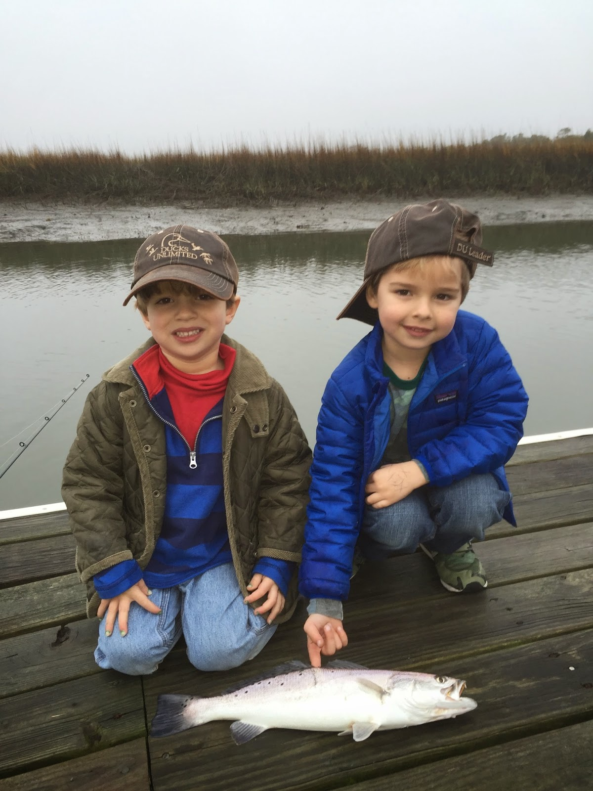 Coasting the lowcountry fishing is good even in the winter for Take a kid fishing