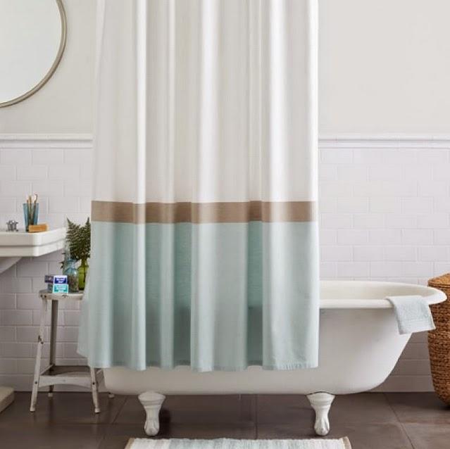 tirai gorden kamar mandi modern