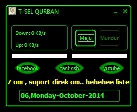 Inject Telkomsel Qurban 06 OKtober 2014
