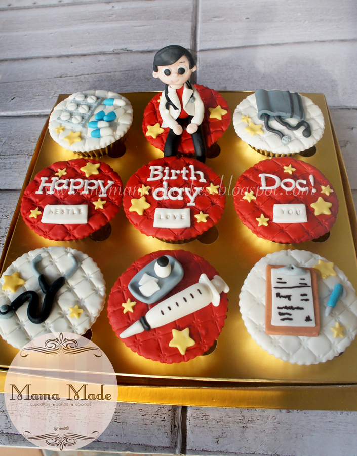 Doctor Themed Birthday Cupcakes Mama Made Cakes