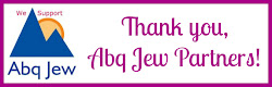 Thank you, Abq Jew Partners!
