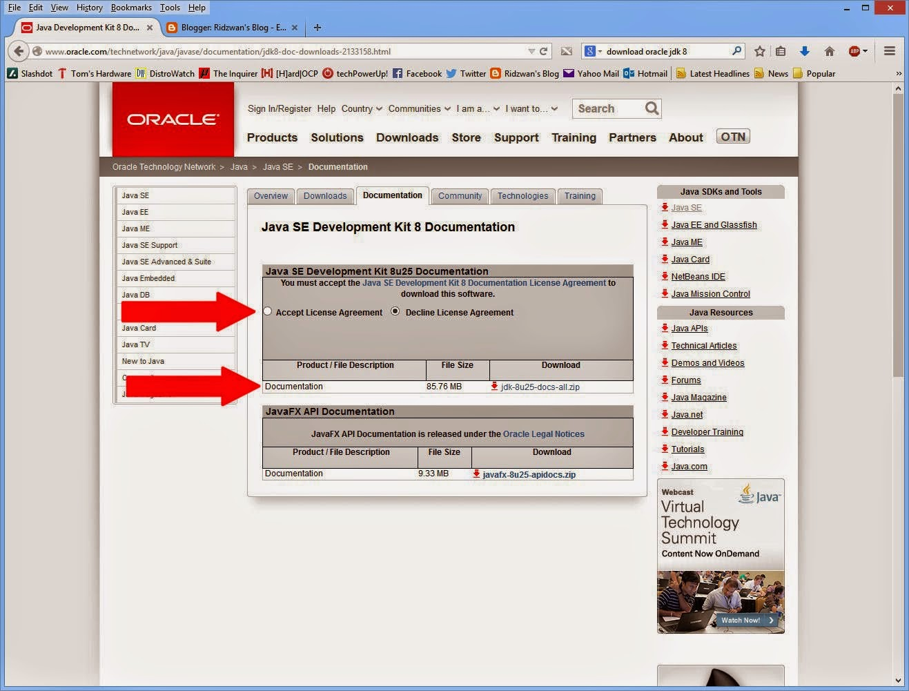 Software  Oracle Academy