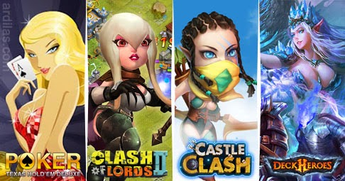 Apa Itu IGG? Arti IGG - I Got Games Adalah Industri Game : Texas Holdem Poker Deluxe, Clash of Lords 2, Castle Clash, Deck Heros