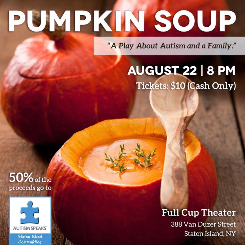 Pumpkin Soup Facebook Flyer: Designed by Lisa DeAngelo