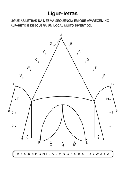 atividades escolares lúdicas atividades com o alfabeto