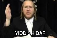 yiddish daf