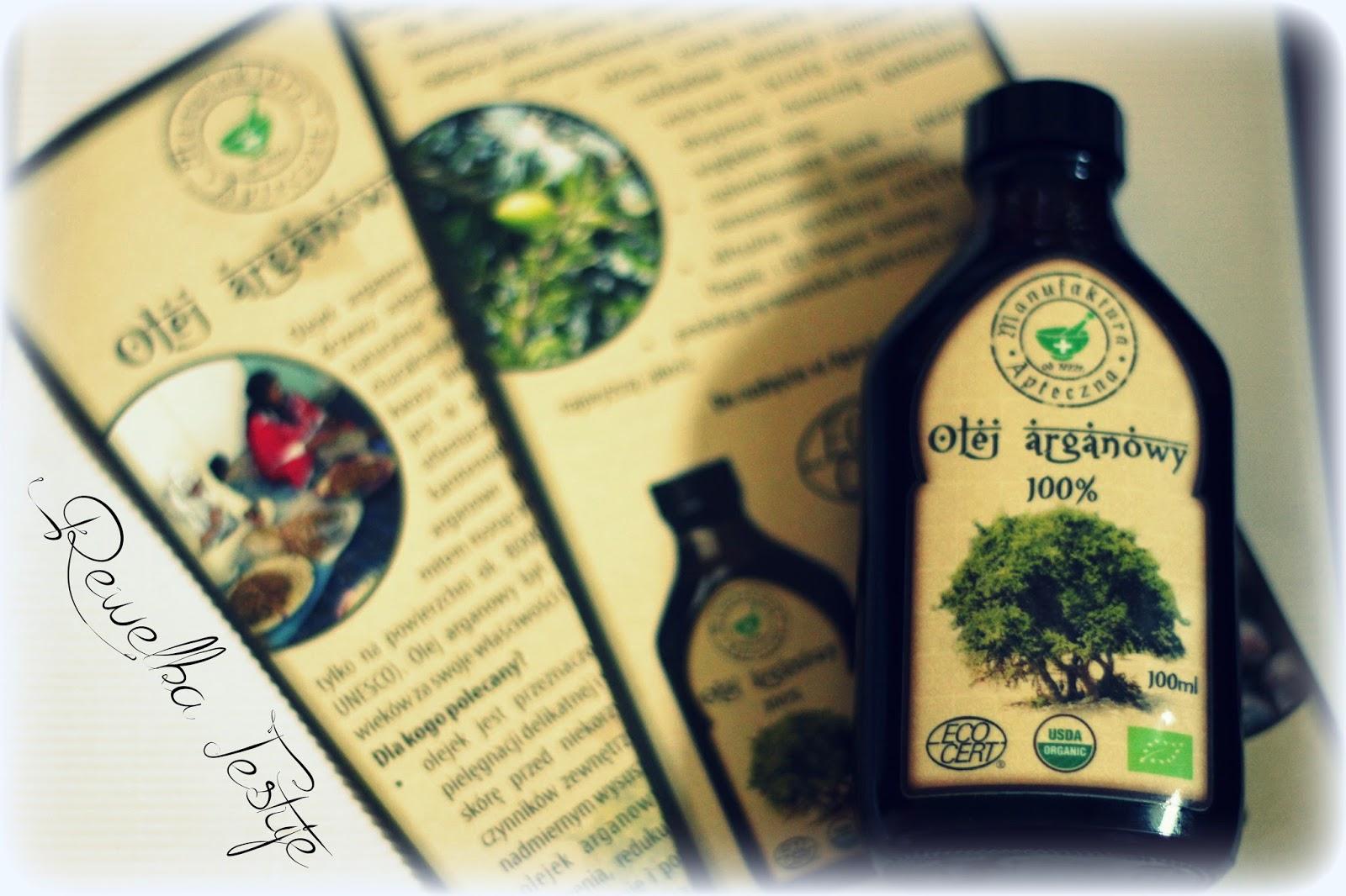 100% olej arganowy z Maroka od Manufaktura Apteczna - recenzja