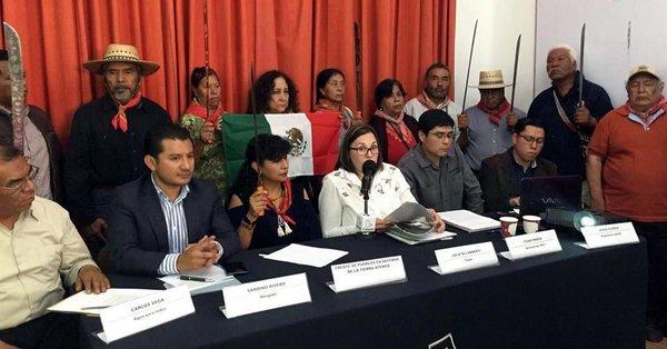 Campesinos de San Salvador Atenco demandaron participar en el debate sobre el #NAIM