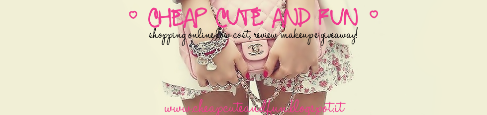 ☆ Cheap Cute & Fun ♡