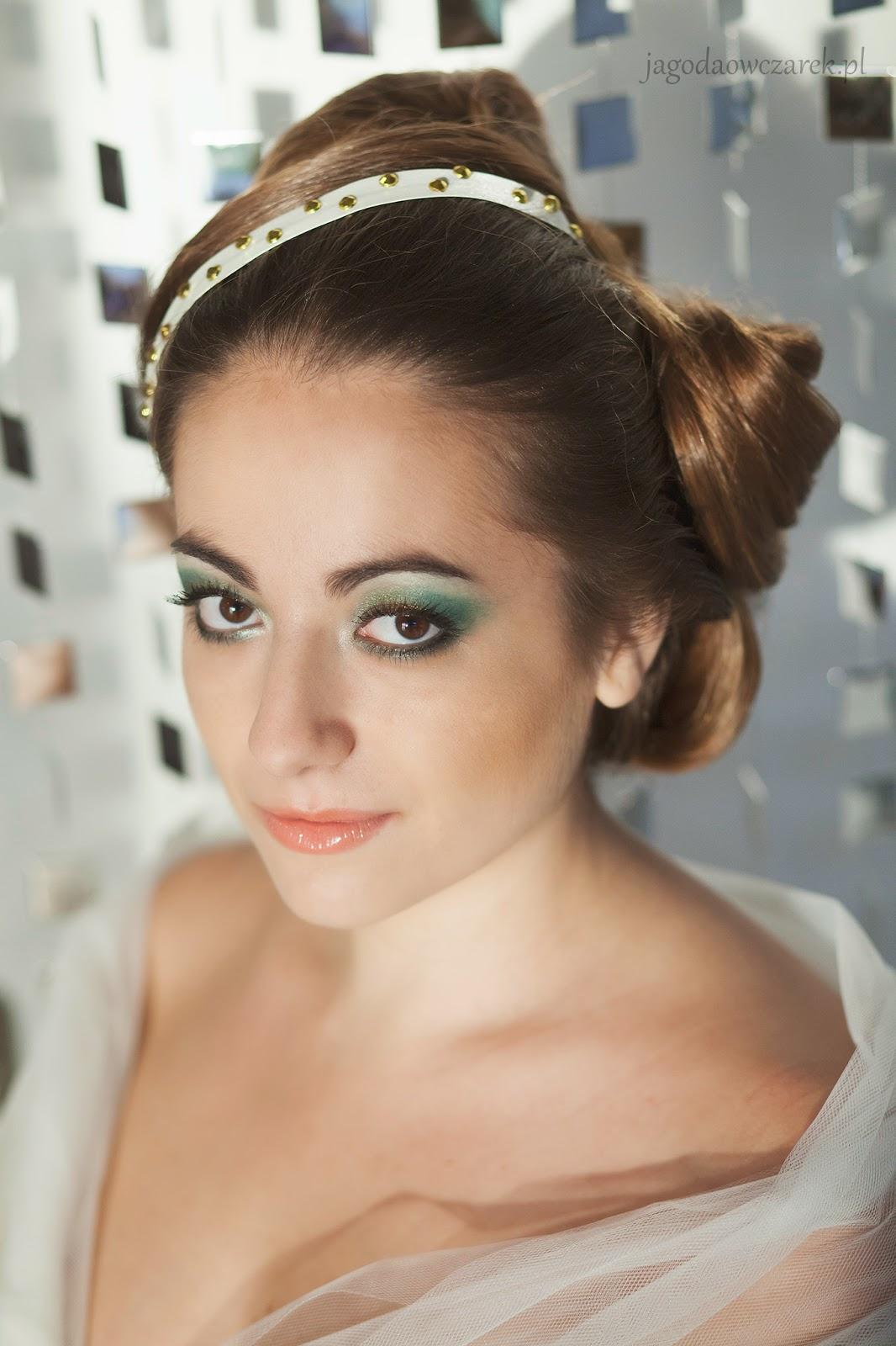 Makijaż ślubny w wersji na bogato