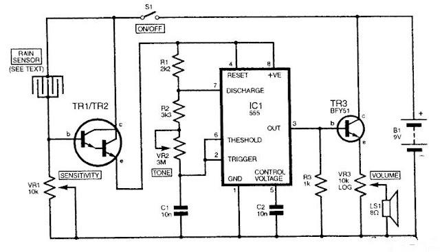 electronic circuit  tip122