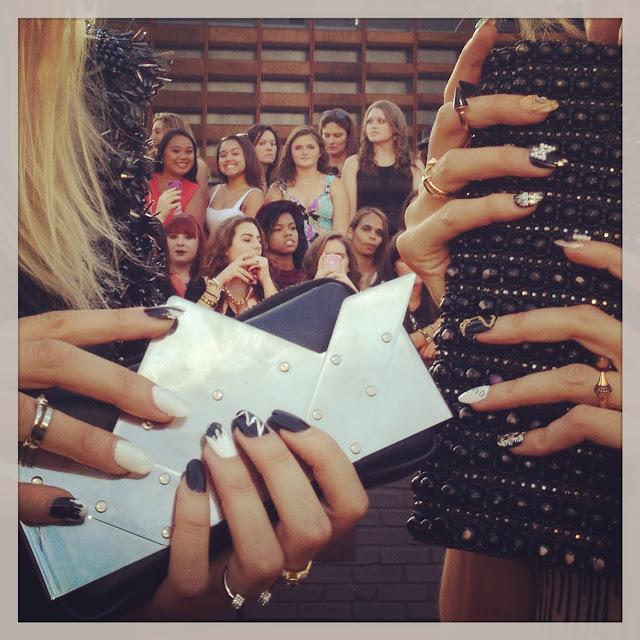 Nervo Covergirl nail art