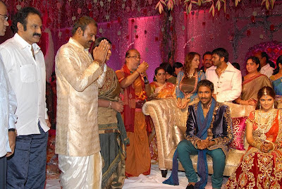 Actor Vishnu marriage engagment Photos