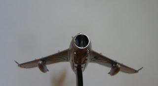 miniature model Mikoyan Gurevich Mig-17 F Fresco C