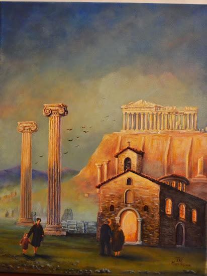 ΓΙΑΝΝΗΣ ΜΟΡΕΛΛΟΣ Ένας ζωγράφος από την Θεσσαλλονίκη