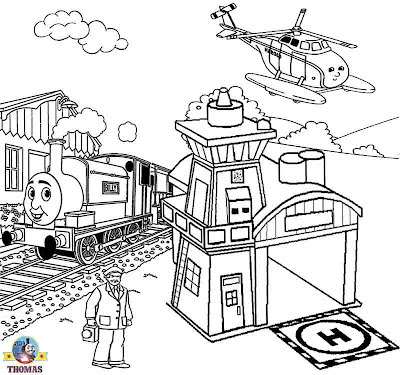 Harold helicopter Thomas the train coloring pages for teenagers worksheets online artwork classes