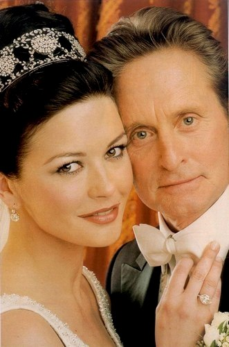 Boda de Catherine Zeta Jones y Michael Douglas