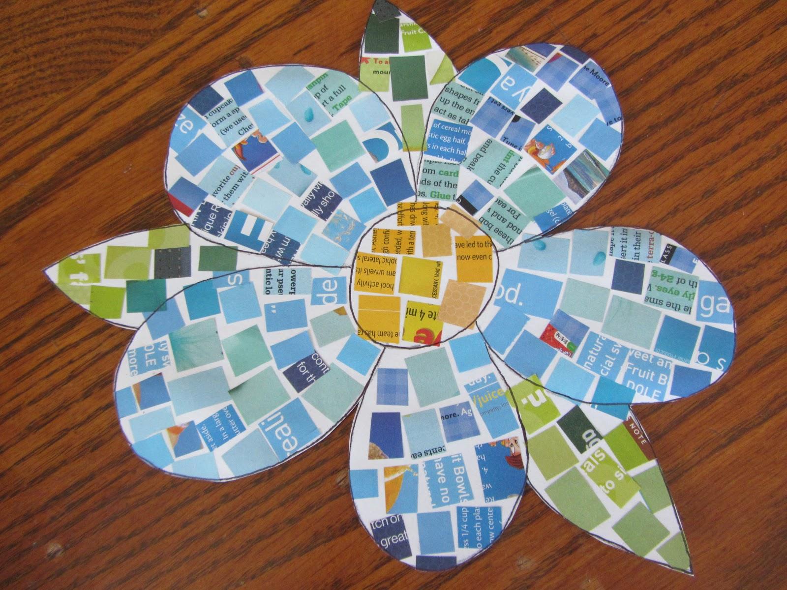 Мозаика из бумаги своими руками дети