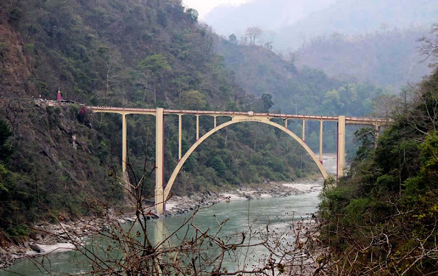 Coronation Bridge on Teesta River