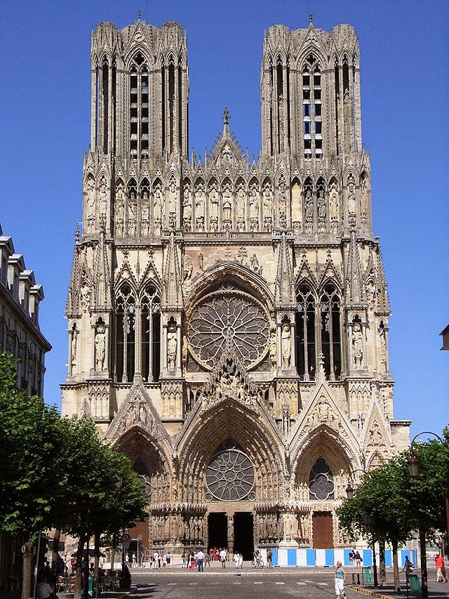 Reims Cathedral,France