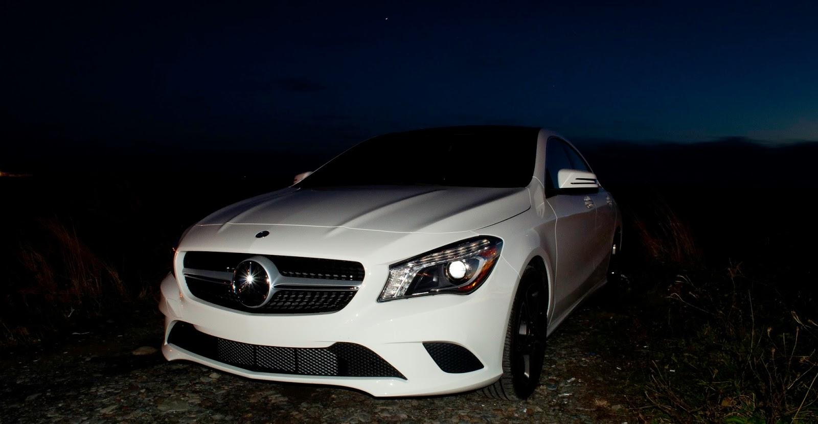 2014 Mercedes Cla 250 White The Image