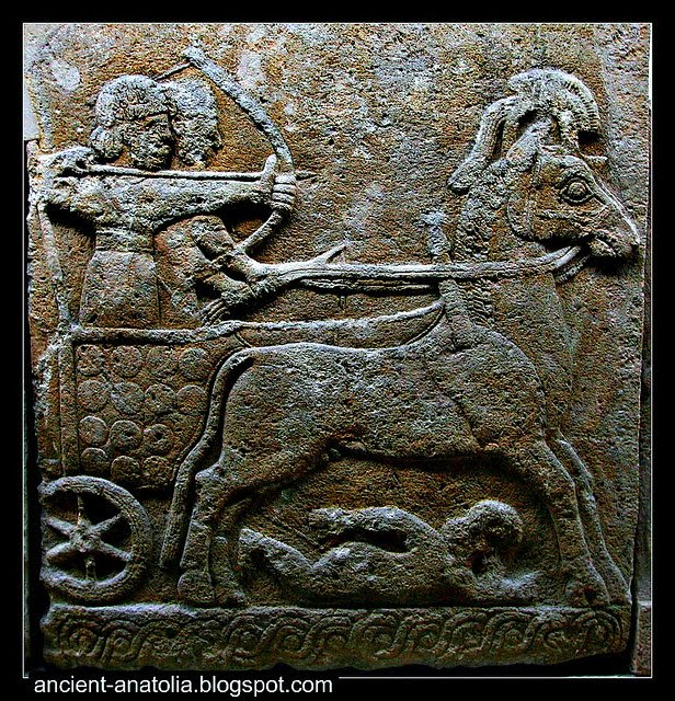 Hittite Archer on a Chariot