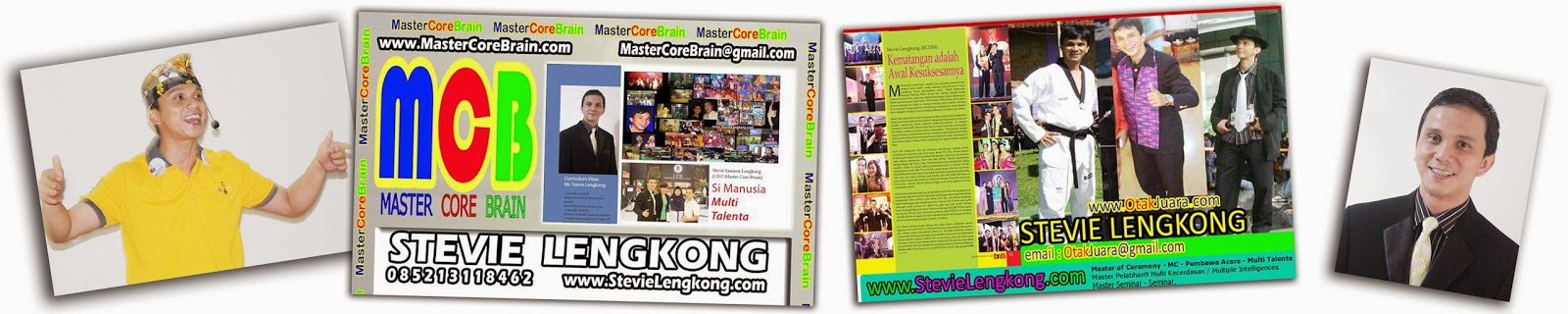 Stevie Lengkong the Multi Talented Trainer Motivator from Indonesia