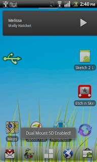 Dual Mount SD Widget