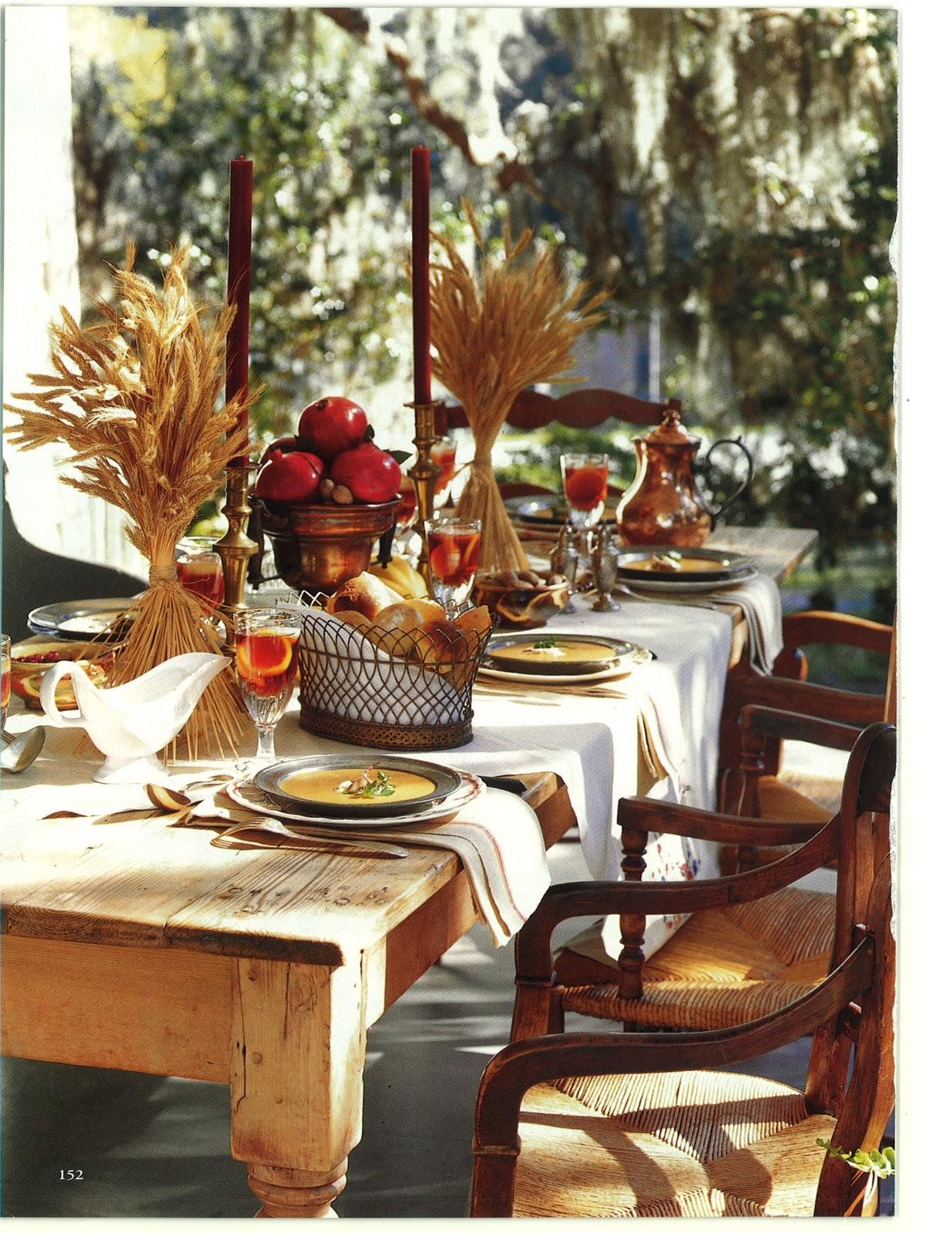 Henhurst decorating and dining thanksgiving for Pottery barn thanksgiving