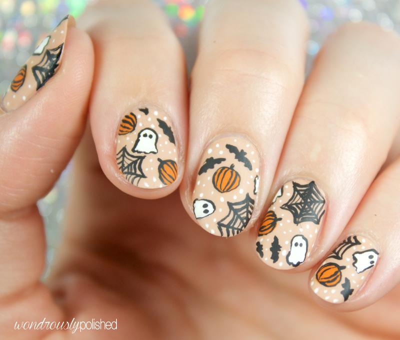Wondrously polished 40 great nail art ideas halloween 40 great nail art ideas halloween prinsesfo Choice Image