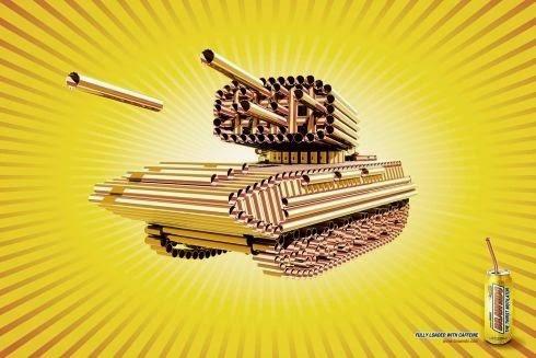 Kerajinan Tangan Dari Sedotan Bisa Membuat Tank dan Senjata